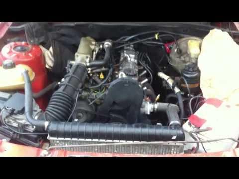 Двигатель C20NE с Omega A на Opel ReKord E1 1982 г.р.