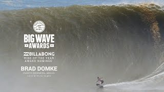 getlinkyoutube.com-Brad Domke on his Ride of the Year Nominated Wave - WSL Big Wave Awards 2015