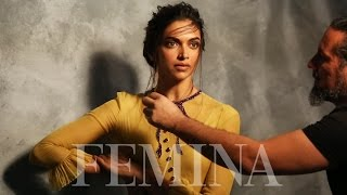 getlinkyoutube.com-Deepika Padukone Shoots For Femina's India's Most Beautiful Cover