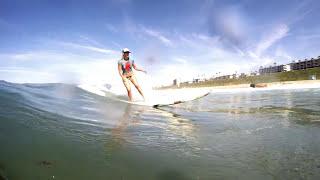 getlinkyoutube.com-4 Surfer Girls Wearing Body Paint