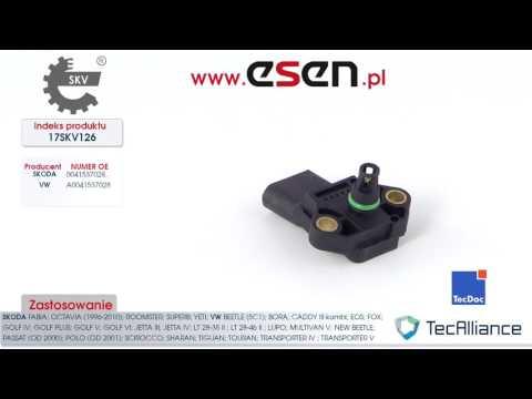 MAP Sensor Skoda Fabia, Skoda Octavia Skoda Yeti VW Bora, VW Golf, VW Jetta, VW Passat OE 038906051B