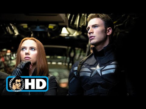 Captain America: The Winter Soldier Extended Clip & Trailer (HD) Chris Evans, Scarlett Johansson