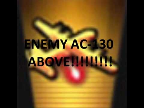 Enemy AC-130 ABOVE!