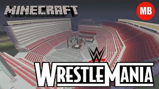 getlinkyoutube.com-WWE: Wrestlemania 31 Arena in Minecraft!