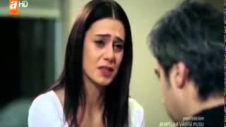 getlinkyoutube.com-اغنية تركية حزينة مسلسل وادي الذئاب مراد علم دار و ليلى تركمان تبكي الحجر