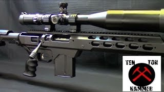 getlinkyoutube.com-Tactical Savage Sniper Rifle, MDT Tac 21 Chassis, Command Arms Stock