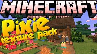 getlinkyoutube.com-[0.13.0] PIXIE!! - Texture Pack for MCPE! - Minecraft PE (Pocket Edition)