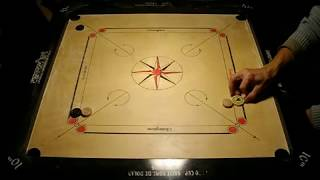 getlinkyoutube.com-Carrom Tricks, How to play bomb shots with comments.