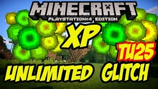 Minecraft PS4 XP Duplication Glitch TU25