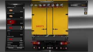 [ETS 2] Mercedes Mega Tuning Mod BDF + Download