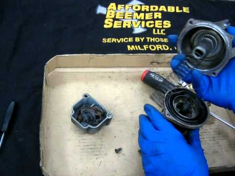 BMW Service - Bing carburetor cleaning-Disassembly