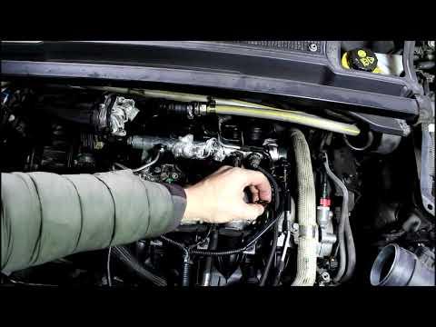 Профилактика форсунок двигателя на Range Rover Evoque 2,2 Ленд Ровер Эвок 2011 года 2часть