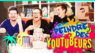 getlinkyoutube.com-On peint des Youtubers ! ft. Théo Gordy