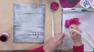 getlinkyoutube.com-Acrylic Painting Techniques: Creative Textures Preview with Chris Cozen