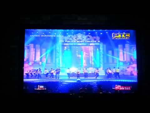 Kanth Kaler   Live Performance at PTC Punjabi Music Awards 2014