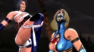 getlinkyoutube.com-Mortal Kombat Komplete Mods Mileena Mk Vs Dc Costume & Test Your Luck Madness
