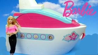 getlinkyoutube.com-جولة في سفينة باربي الضخمة ألعاب بنات - Barbie Cruise ship tour