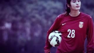 getlinkyoutube.com-zhao lina the most cute and pretty goal keeper ever..