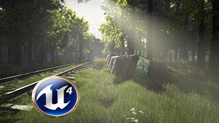 getlinkyoutube.com-Speed Level Design - The Railroad - Unreal Engine 4