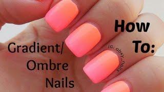 getlinkyoutube.com-♥ How To Ombre/Gradient Nails EASY ♥