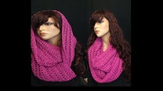 getlinkyoutube.com-How to Crochet a Round Infinity Scarf Pattern #8 │by ThePatterfamily