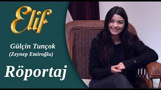 getlinkyoutube.com-Elif Dizisi - Zeynep / Gülçin Tunçok Röportaj ᴴᴰ