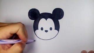 getlinkyoutube.com-มิกกี้ เมาส์ ดิสนีย์ ซูมซูม Tsum Tsum วาดการ์ตูนกันเถอะ สอนวาดรูป การ์ตูน