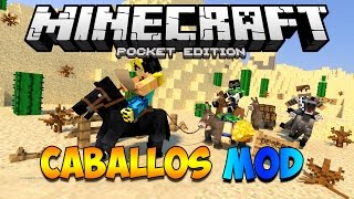 getlinkyoutube.com-CABALLOS MODS PARA MINECRAFT PE 0.12.1 | Mods Para Minecraft PE 0.12.1