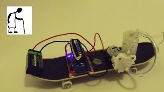 getlinkyoutube.com-Infrared Remote Controlled Water Pump 'Car'