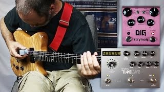 getlinkyoutube.com-EBow (E-Bow) Ambient Guitar with the Strymon DIG Dual Digital Delay and Strymon Timeline
