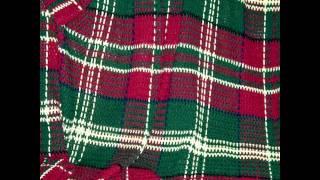 getlinkyoutube.com-Crochet a tartan blanket ~ How to