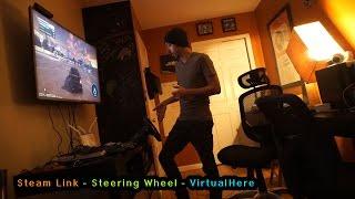 getlinkyoutube.com-Steam Link - Steering wheel working with VirtualHere