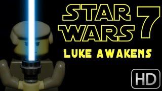 getlinkyoutube.com-Lego Star Wars 7 Trailer 3 - Where's Luke?
