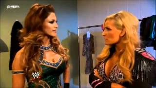 Natalya Farts With Eve Torres - SmackDown 02.03.2012