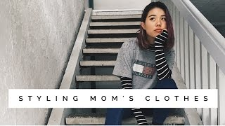 How I Style Mom's Clothes Lookbook