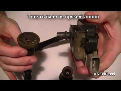 Замена трубок катушек зажигания SUZUKI SWIFT M13A HT51S