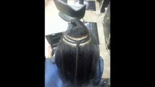 braid pattern for the GLAM WEAVE.(alternative) sew-in 2much hair