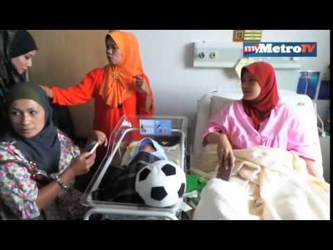 Tragedi MH370 :  Isteri pramugara selamat melahirkan anak