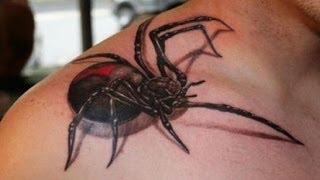 getlinkyoutube.com-Best 3D tattoos in the world HD [ Part 2 ]  Amazing Tattoo Designs