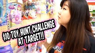 getlinkyoutube.com-$10 TOY HUNTING Challenge at Target - SOOO MANY Awesome Dolls and Toys on Clearance!!