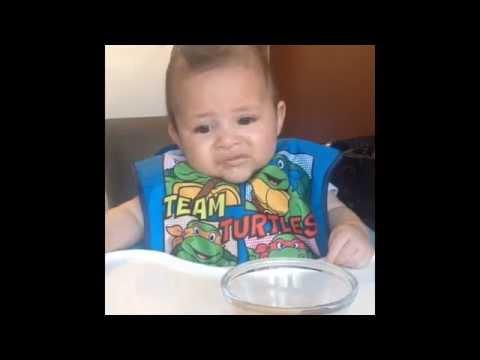 Baby Dislikes Food
