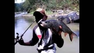 getlinkyoutube.com-Casting Hampala sungai sadane di Bogor