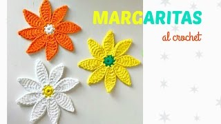 getlinkyoutube.com-Margaritas a crochet