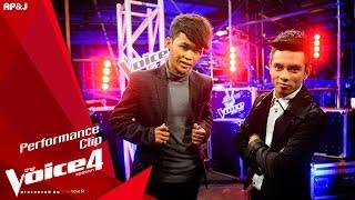getlinkyoutube.com-The Voice Thailand - เดย์ VS ซี - ดูโง่โง่ - 25 Oct 2015