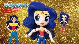 getlinkyoutube.com-Wonder Woman DC SuperHero Girls Custom Tutorial | Start With Toys