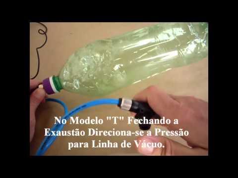 Bomba de Vácuo (27inHg) de Uso Geral, Vacuum Forming , Laminação , Seladora, Serigrafia, etc..
