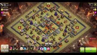 getlinkyoutube.com-이불킥 Th10 Attack Strategy | AQ LaLoon by 두부 (230-34)