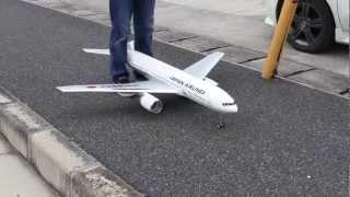getlinkyoutube.com-20120513 RC 飛行機 Boeing 777  JAL EDF JET Airliner Air Craft
