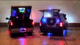 Mini Sound Car, RC Lariat Vs Lincoln
