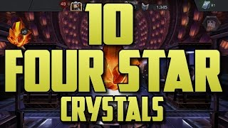 10X FOUR STAR CRYSTALS! [MARVEL CONTEST OF CHAMPIONS]